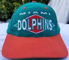 Miami Dolphins Logo Athletic snapback cap vintage hat 90s Logo 7 vtg NFL