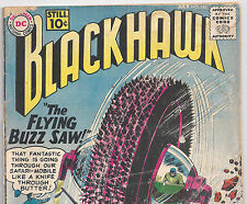 DC Comics Blackhawk #162 The Flying Buzz Saw! from July 1961 in Poor condition