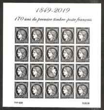 FRANCE 2019 NOUVEAU Bloc CERES 170 ans du 1ér Timbre Français NEUF**LUXE MNH