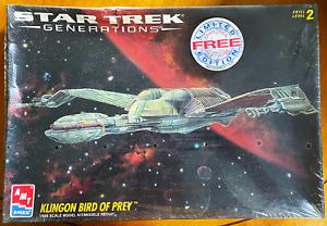 Star Trek Generations Klingon Bird of Prey Model 1995 AMT ERTL Model 8230 NEW