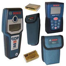 Bosch Multi-Ortungsgerät GMS 120 + Bosch DLE 40 Laserentfernungsmesser