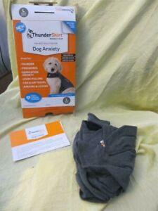 USED dog thunder jacket fireworks behavior nervous pet cuddler size L gray 41-64