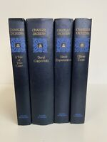 Vintage Set Of 4 Books By Charles Dickens (Hardcover) - Nelson Doubleday Inc.