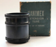 Hanimex Extension tube set for Praktica, Pentacon & Edixa (Boxed)