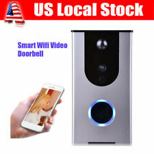 Smart Wireless Remote DoorBell Ring WiFi Visual PIR IR Night Vision Camera Phone
