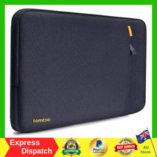 tomtoc 360° Protective Laptop Sleeve Case Bag For 13 inch Macbook Pro Air NEW AU