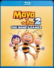 Maya the Bee 2: The Honey Games (Bluray + DVD, 2018) - Ships within 12 hours!!!