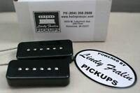 Lindy Fralin P90 Soapbar Stock Pickup set - black