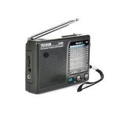 TECSUN R909 AM/FM MW SW Shortwave Analog Radio Receiver 9 Bands - FREE SHIPPING