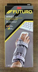 Futuro Deluxe Wrist Stabilizer Firm Support Gray-Small/Medium RIGHT HAND (NEW)