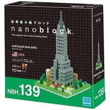 NANOBLOCK Chrysler Building New York NY Nano Micro-Sized Building Blocks NBH-139