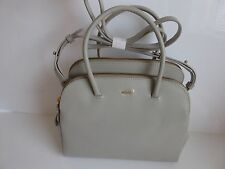 Radley 'Green Park' Grey Leather Multiway Bag BNWT RRP £209 With Dust Bag