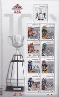 Canada 2012 Souvenir Sheet #2567 100th Grey Cup Game - MNH - Value $15.75