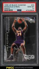 1998 Upper Deck Black Diamond Single Shaquille O'Neal #45 PSA 10 GEM MINT
