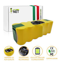 Batteria Aspirapolvere per iRobot Roomba 570 580 610 760 770 780 R3 3500mAh 0984