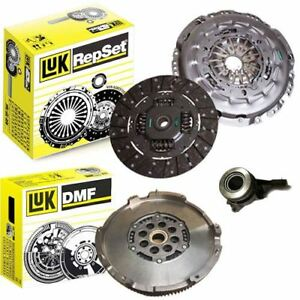 LUK DUAL MASS FLYWHEEL, CLUTCH KIT AND CSC FOR FORD TRANSIT BOX, BUS 2.2 TDCI