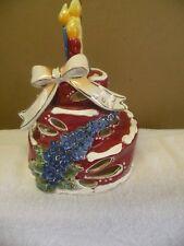 Blue Sky / Clayworks July Birthday Cake Candle Holder