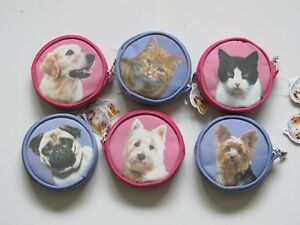 Children`s Coin Purses, Lunch Bags, Dogs and Cats