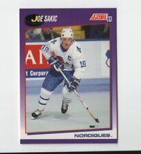 1991-92 Score American  25 Joe Sakic Quebec Nordiques Hockey Card 45a1916ef