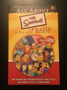 All About The Simpsons Puzzle 1000 Piece 27x20 BGI A Story To Assemble