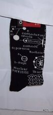 Nuclear Physics Black Mens/Womens Socks