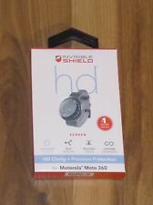 ZAGG InvisibleShield HD Clear Screen Protector Motorola Moto 360 1st gen NEW