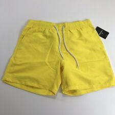 New ListingNew Forever 21 Adult Yellow Swim Trunks Shorts Suit Mens Size S Small
