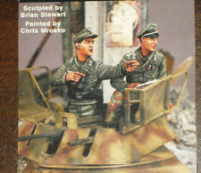 1/35 GERMAN ARMORED CAR CREW by WARRIORS