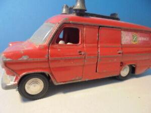DINKY TOYS FORD TRANSIT VAN fire, 286, c1968