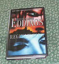 Regina's Song by David Eddings and Leigh Eddings (2002, Hardcover) ex-library