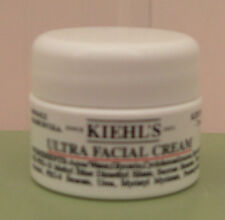 2 Kiehl's Ultra Facial Cream ~ 7ml/0.25 oz Each ~ New in Travel Size Jar