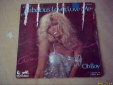 """Vinyle 45 tours Amanda Lear: Fabulous """"Lover,love me""""."""