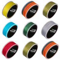 8 Brins bleu/noir/jaune/multicolore/gris 300M 100M 6LB-80LB Tresses Pêche Ligne