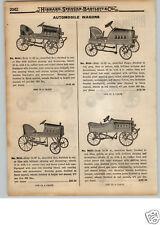 1922 PAPER AD Pedal Car Automobile Reo Paige Nash