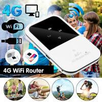 4G LTE Wifi Router Mobile Modem 150Mbps Hotspot SIM Card Slot Unlocked Portable