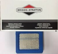 1 x GENUINE BRIGGS & STRATTON 491588 AIR FILTER CARTRIDGE 491588S Quantum filter