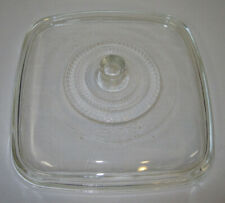 """Vintage 11"""" Square Domed Clear Glass Lid for Casseroles, Skillets Toastmaster ?"""