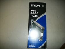 EPSON PRO 4000 9600 PHOTO LIGHT BLACK INK CARTRIDGE T5448 220ML NEW SEALED