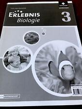 Erlebnis Biologie 3 Tipps und Lösungen zum Schülerbuch Schülerband Schroedel
