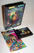 Vintage 1993 Flashback: The Quest for Identity Sega Genesis Video Game Complete