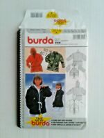 Burda 3019 Child Jacket Loose Fitting Sewing Pattern Size 8-13 OOP UNCUT