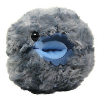 "Roly Poly Plush Doll Toy Dangomushi Super Soft Larva Bug Stuffed Animal Grey 6"""