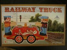 Vintage Wind-up Tin Toy Railway Truck MS 351 Sammlerartikel China
