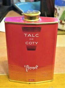 COTY L'AIMANT PERFUMED TALC