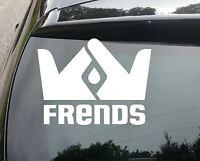 LARGE frends snowboard SURF Car/Van JDM VW DUB VAG EURO FAT Vinyl Decal Sticker