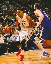 ALEXIS AJINCA signed NEW ORLEANS PELICANS 8X10 PHOTO COA A