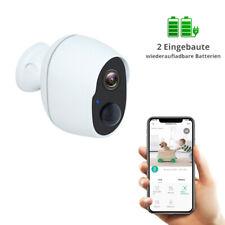 1080P HD IP Netzwerk Außen Camera Überwachungskamera Outdoor Funk Wlan Mit Akku