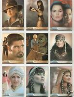 Xena Portraits Warrior by P Parker PP1 through PP18 Art Images insert card set