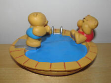 ANDREW BROWNSWORD GROSVENOR FOREVER FRIENDS BEARS IN THE POOL ORNAMENT/figurines