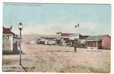 Main Street Tijuana Mexico 1910c #4 postcard